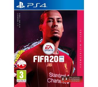 Pudełkowa FIFA 20 na PS4 - Edycja Mistrzowska!