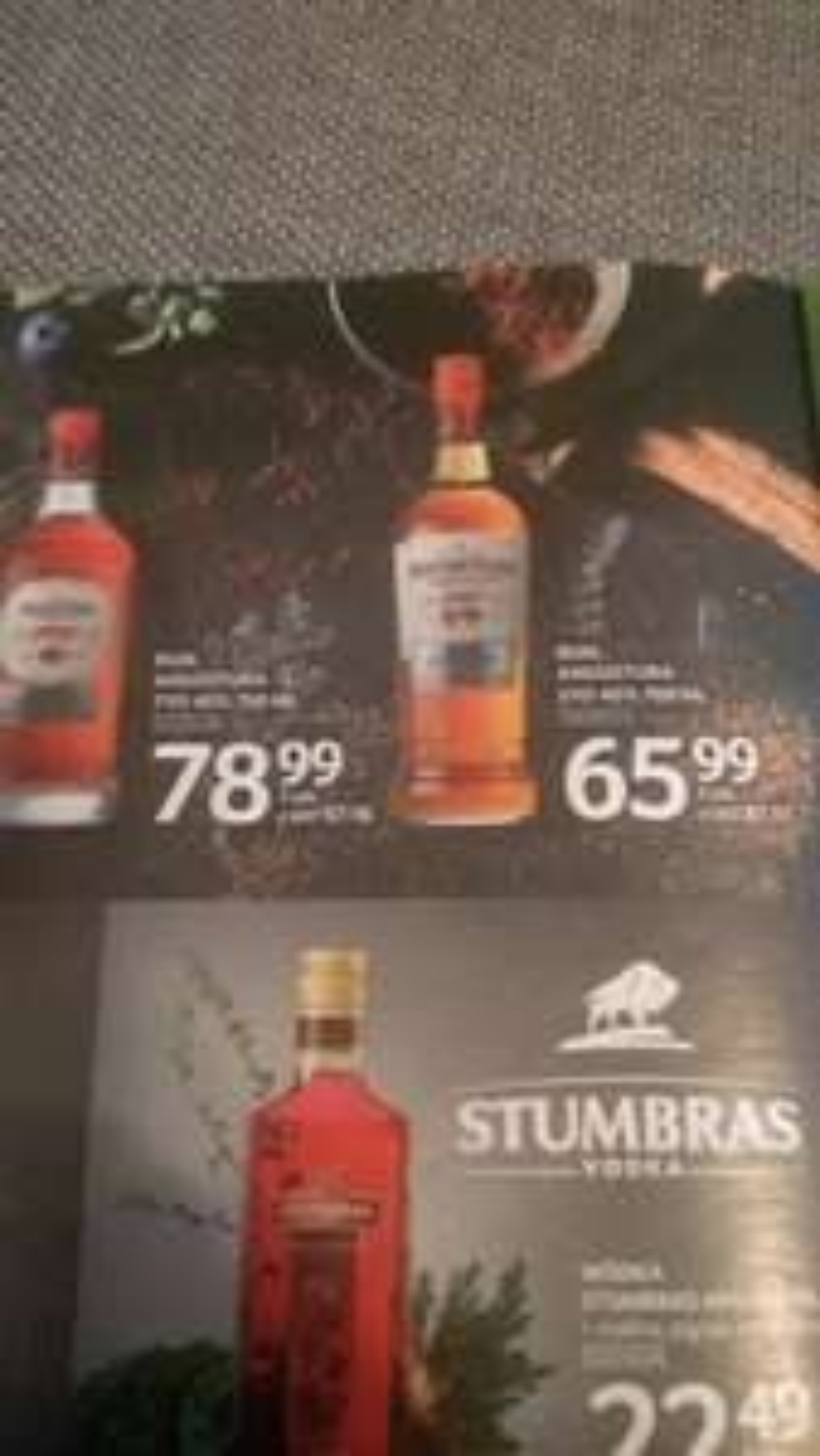 Rum Angostura 5 0,7l w Selgros. Cena przeliczona na detal.