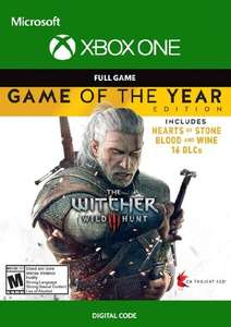 The Witcher 3: Wild Hunt Game of the Year Xbox 513,63 Rub