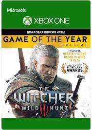 The Witcher 3: Wild Hunt Game of the Year Xbox 518,87 Rub
