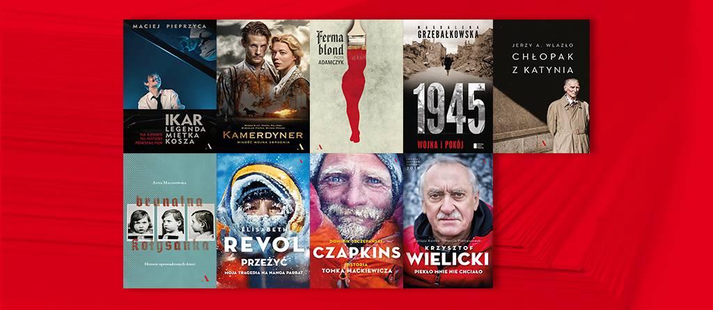 Zestawy 3 książek za 33 zł każdy (ebook lub wersja drukowana)