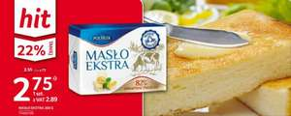 Masło Extra Polmlek 82% 200g