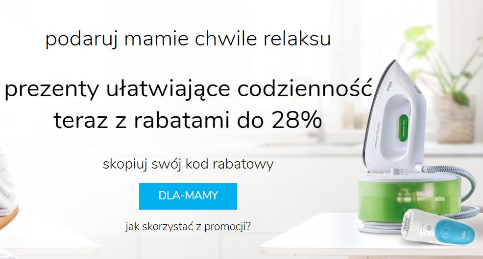 Na Dzień Matki rabaty do 28%