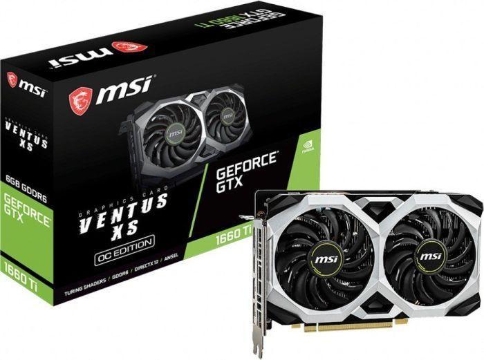 Karta graficzna MSI GeForce GTX 1660Ti Ventus XS OC 6GB @ Morele