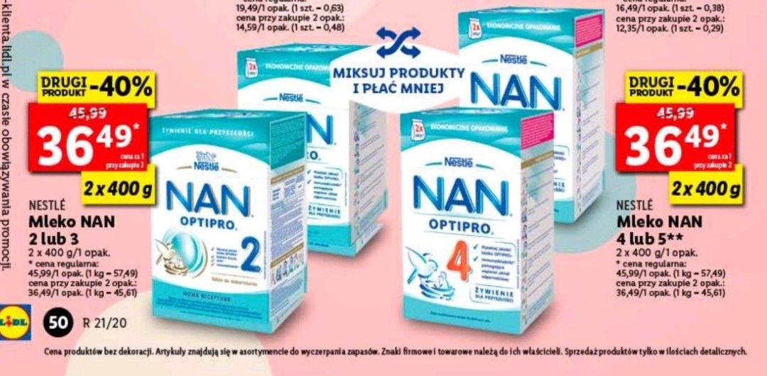 Nestle mleko NAN LIDL