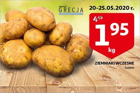 Ziemniaki wczesne 1 kg w Auchan