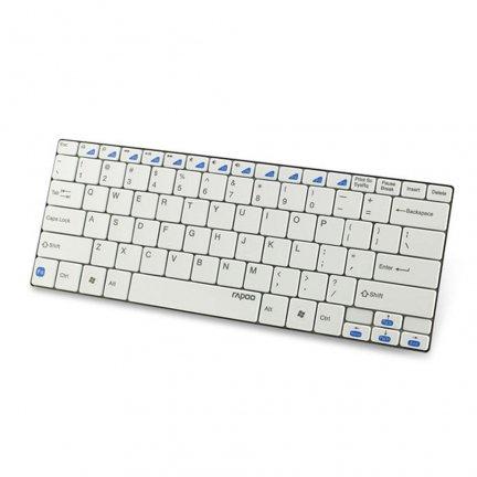 klawiatura Rapoo E6100 biała Bluetooth @PROCPU 49zł