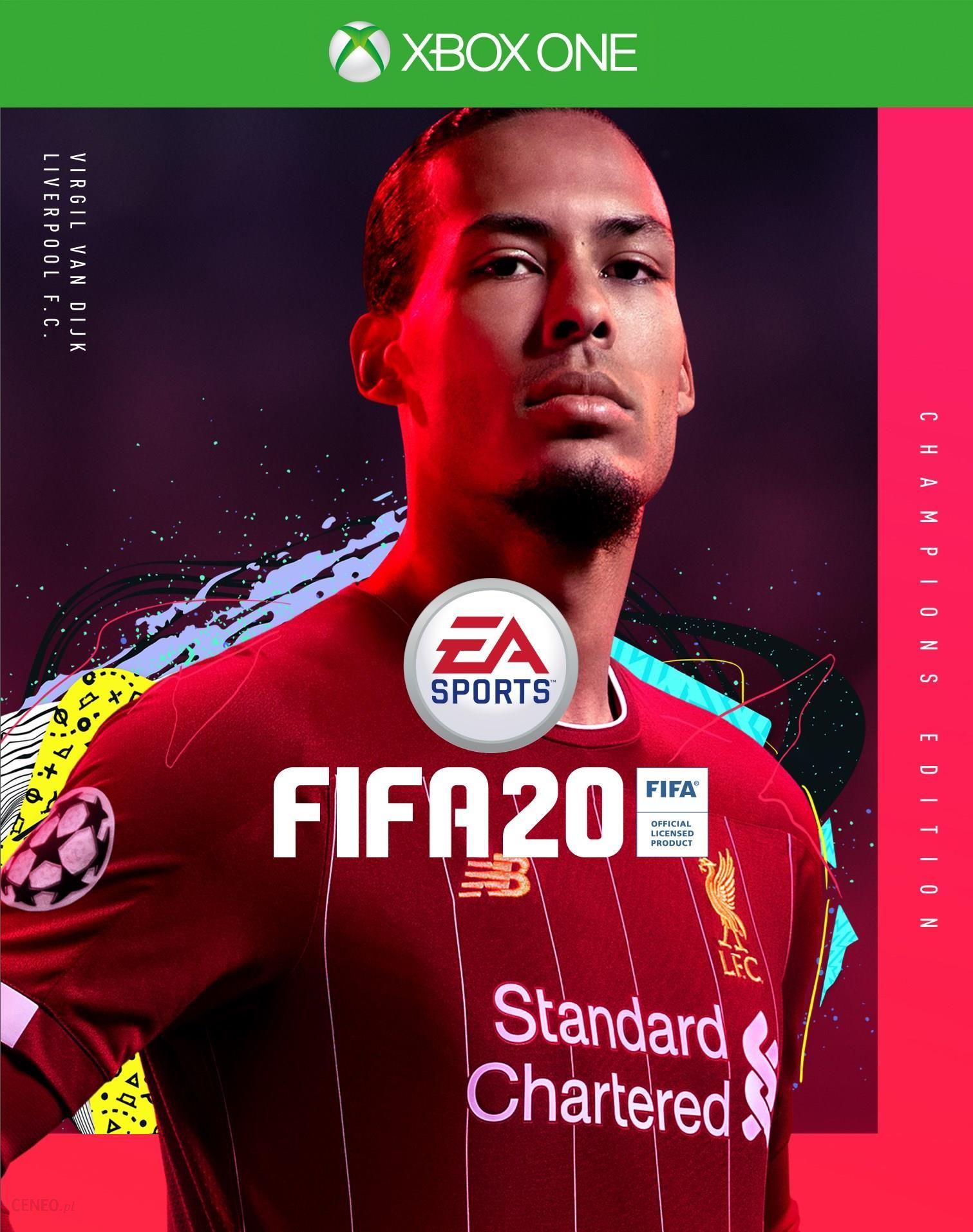 Fifa 20 Edycja Mistrzowska Xbox One