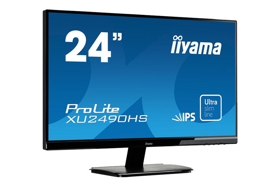 """Monitor iiyama XU2490HS (23,8""""; FHD; IPS, wbudowane głośniki) za 699zł @ X-kom"""