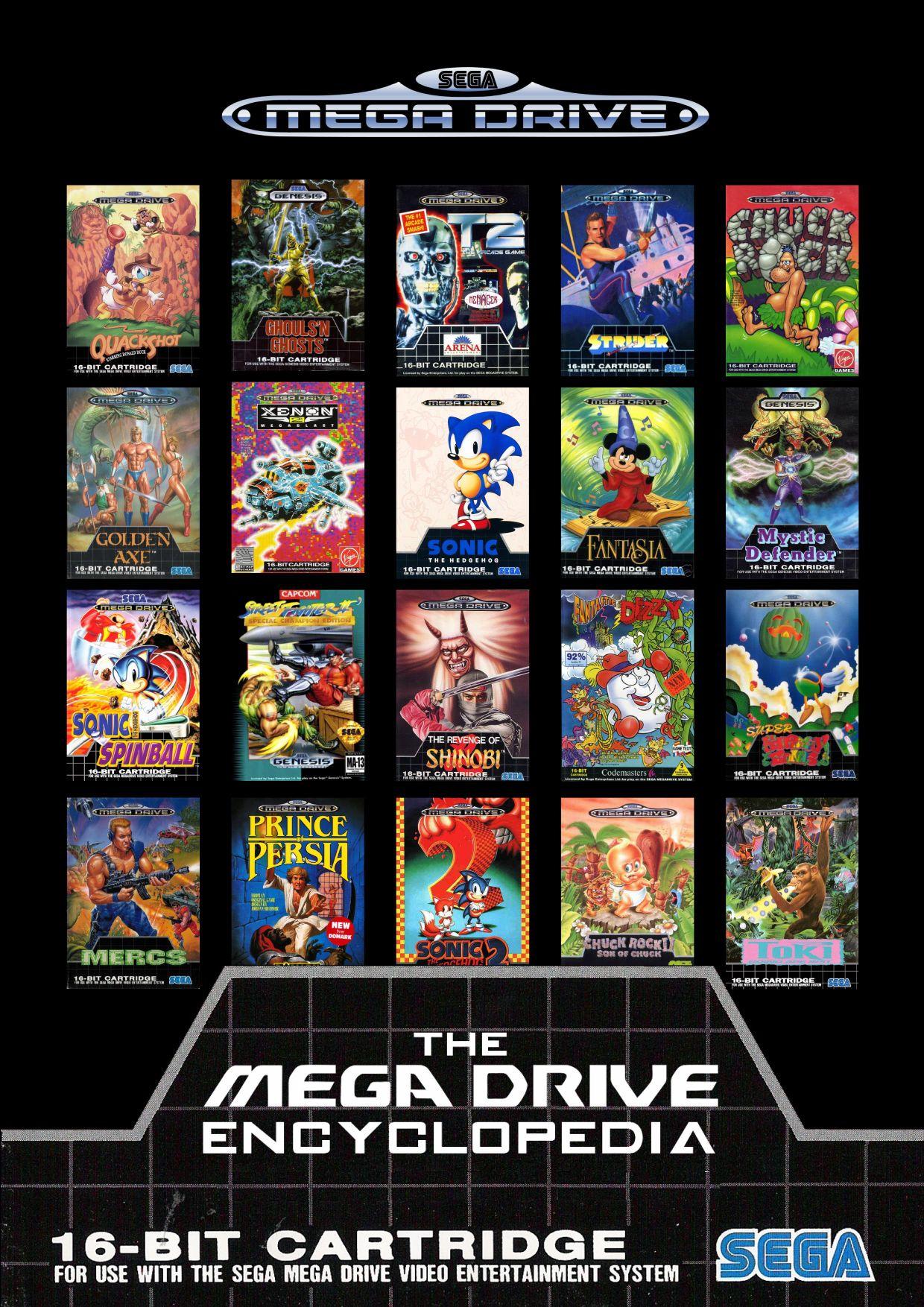 18+ Gamingowych Encyklopedii ( Sega Mega Drive, PlayStation 2, NES, Master System, SNES i więcej ) do pobrania w Pdf