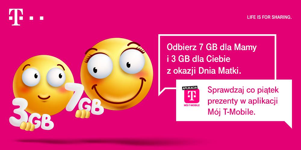 Happy Fridays odbierz 3 GB i przekaż 7 GB innej osobie.