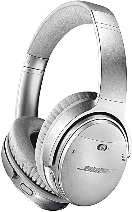 Słuchawki Bose QuietComfort 35 (Series II) srebrne amazon.co.uk