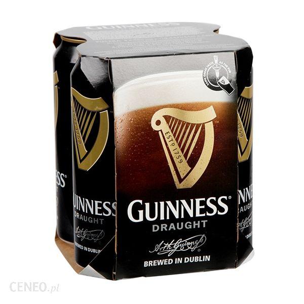 Piwo Guinness puszka 0,44 litra za 3,99 PLN @ Biedronka