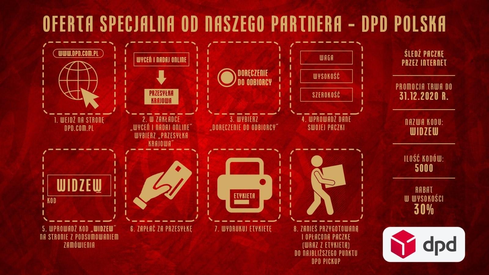 Zniżka 30% na nadanie paczki w DPD Polska