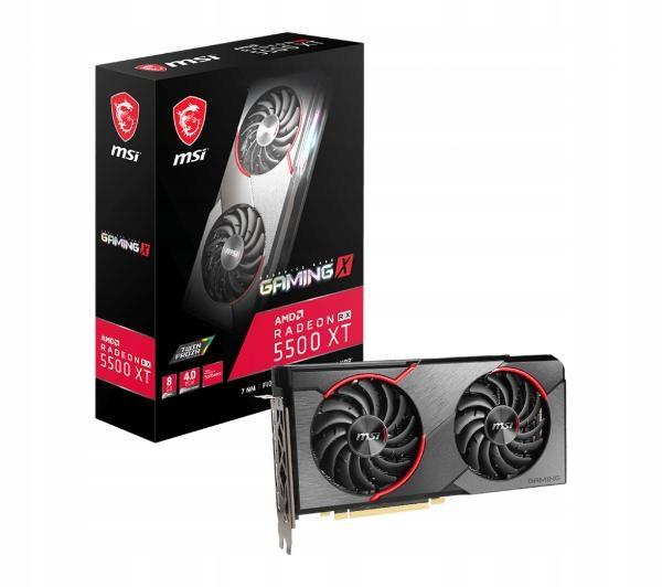 Karta Graficzna MSI Radeon RX 5500 XT GAMING X 8GB