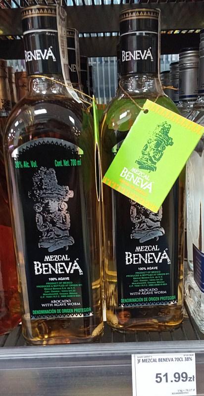 MEZCAL Beneva 1l Auchan