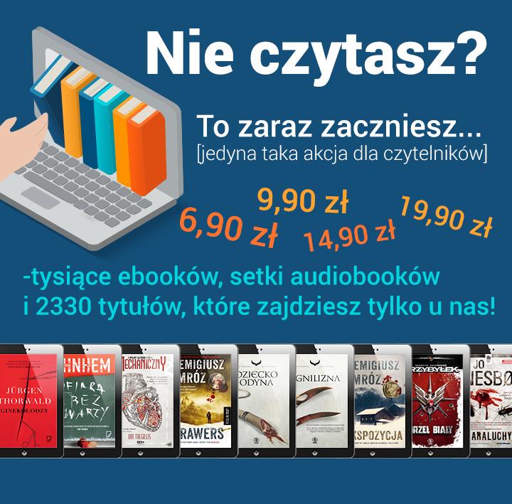 Tysiące ebooków i audiobooków w promocji @ ebookpoint.pl