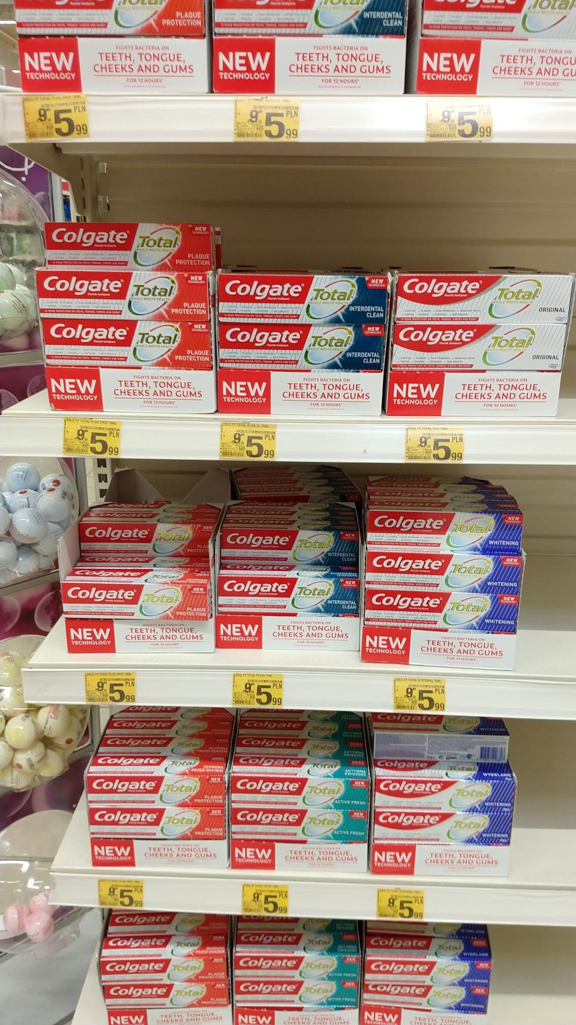 Colgate - pasta do zębów