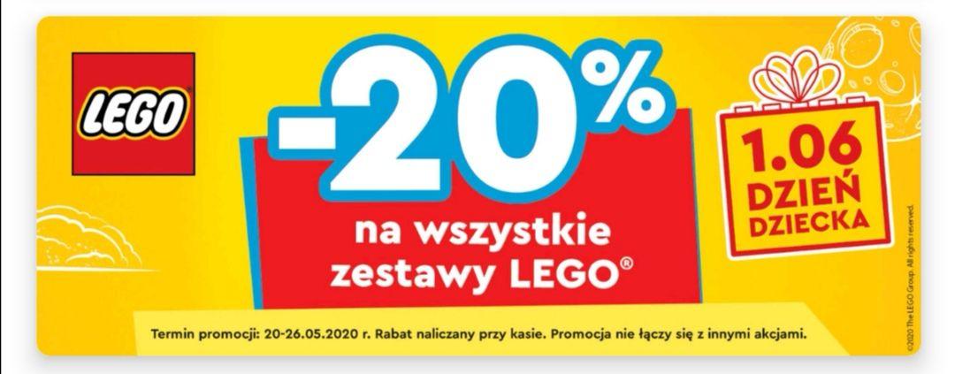 20 % rabatu na zestawy LEGO w Auchan