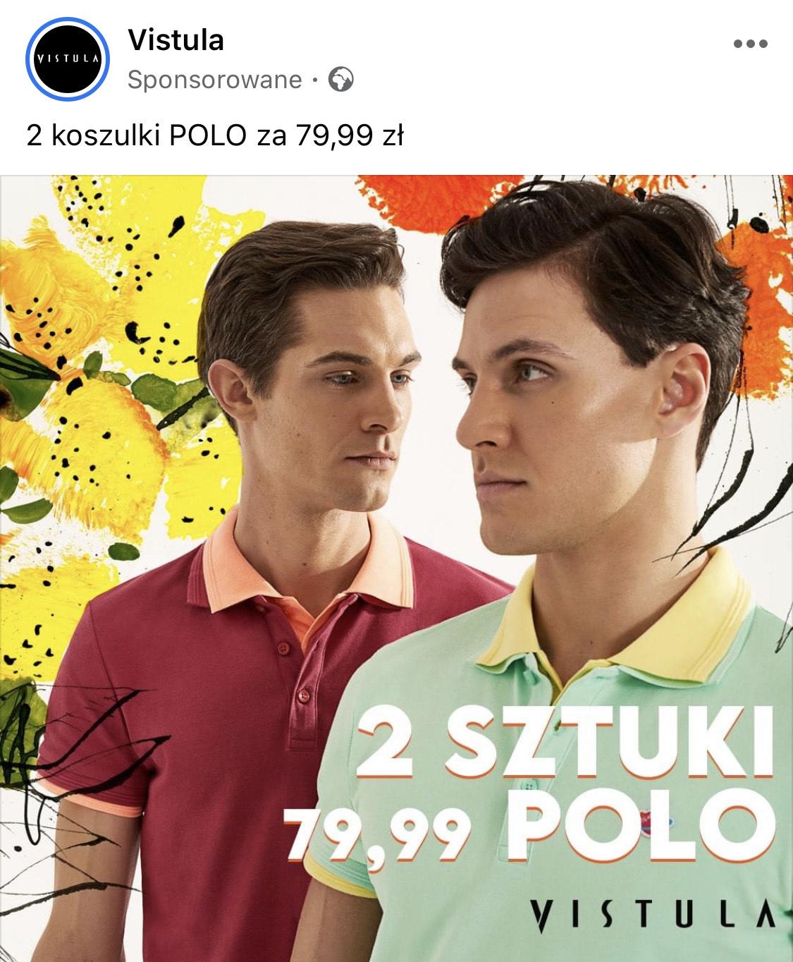 2 koszulki polo za 79,99 (50% taniej)