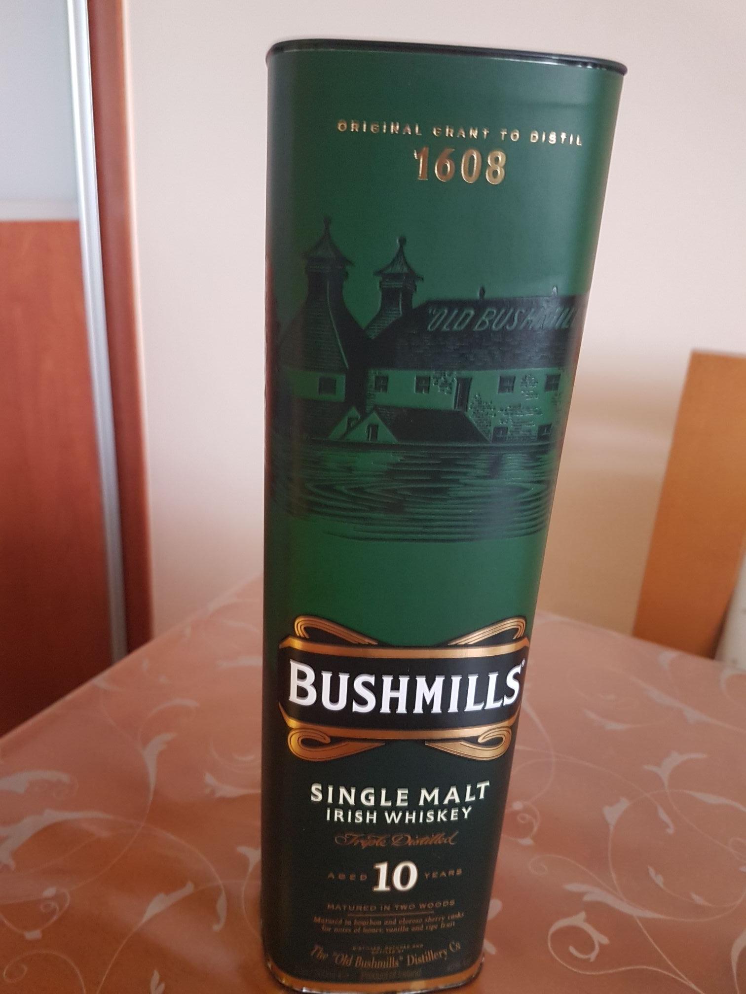 Whiskey whisky Bushmills 10YO Biedronka