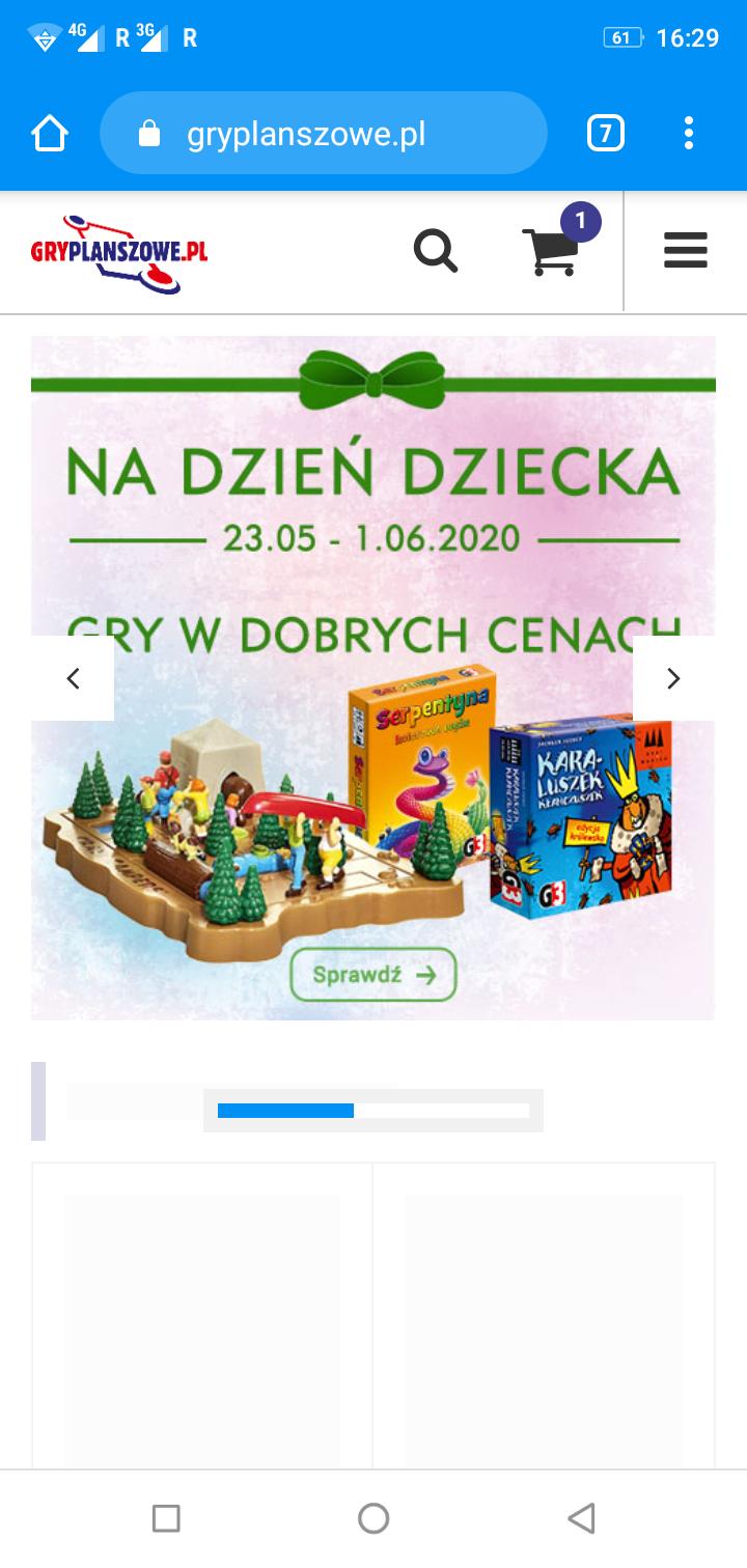 Gry planszowe na gryplanszowe.pl (m.in. 7 dni Westerplatte, Zakon końca świata, Prezencik)
