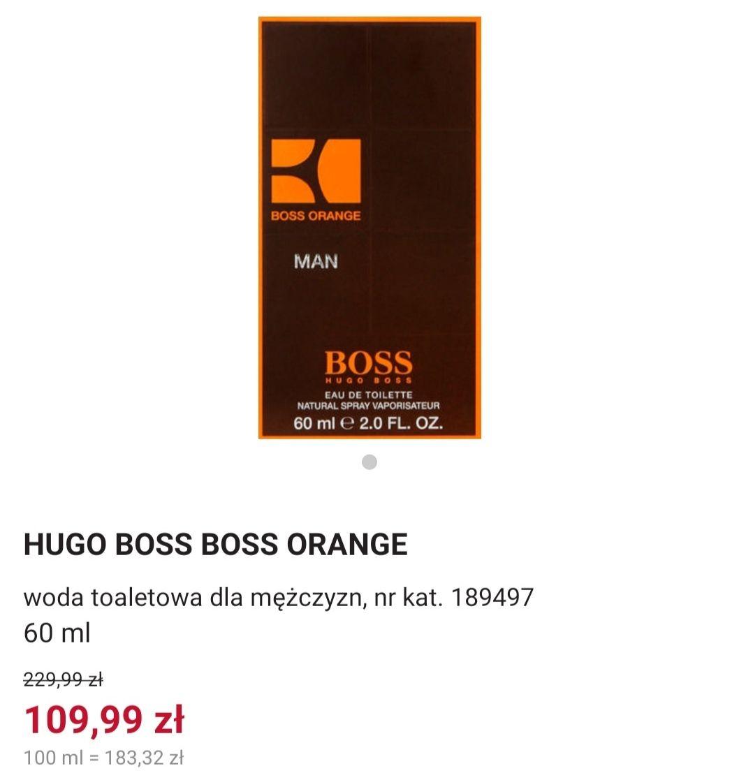 Rossmann Hugo Boss Boss Orange stacjonarnie