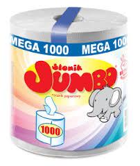 Ręcznik papierowy Słonik Jumbo  Mega 1000- 8,99 zł @ Kaufland