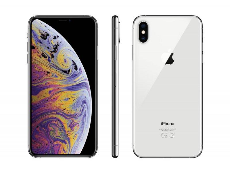 iPhone Xs Max 64/265/512 GB Silver (rabat 300 zł)