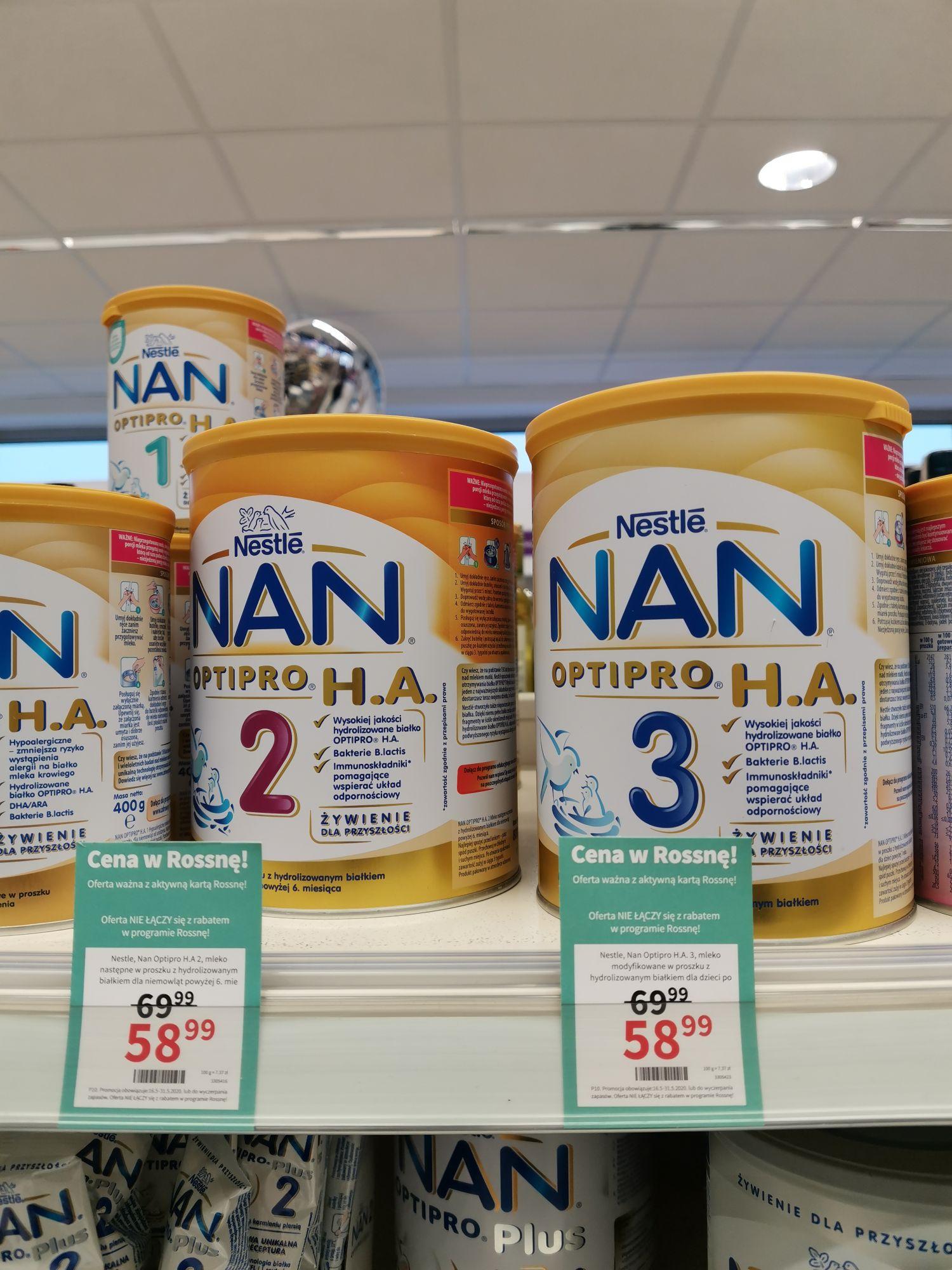 Mleko Nan Optipro H.A. 2 i 3 ROSSMANN