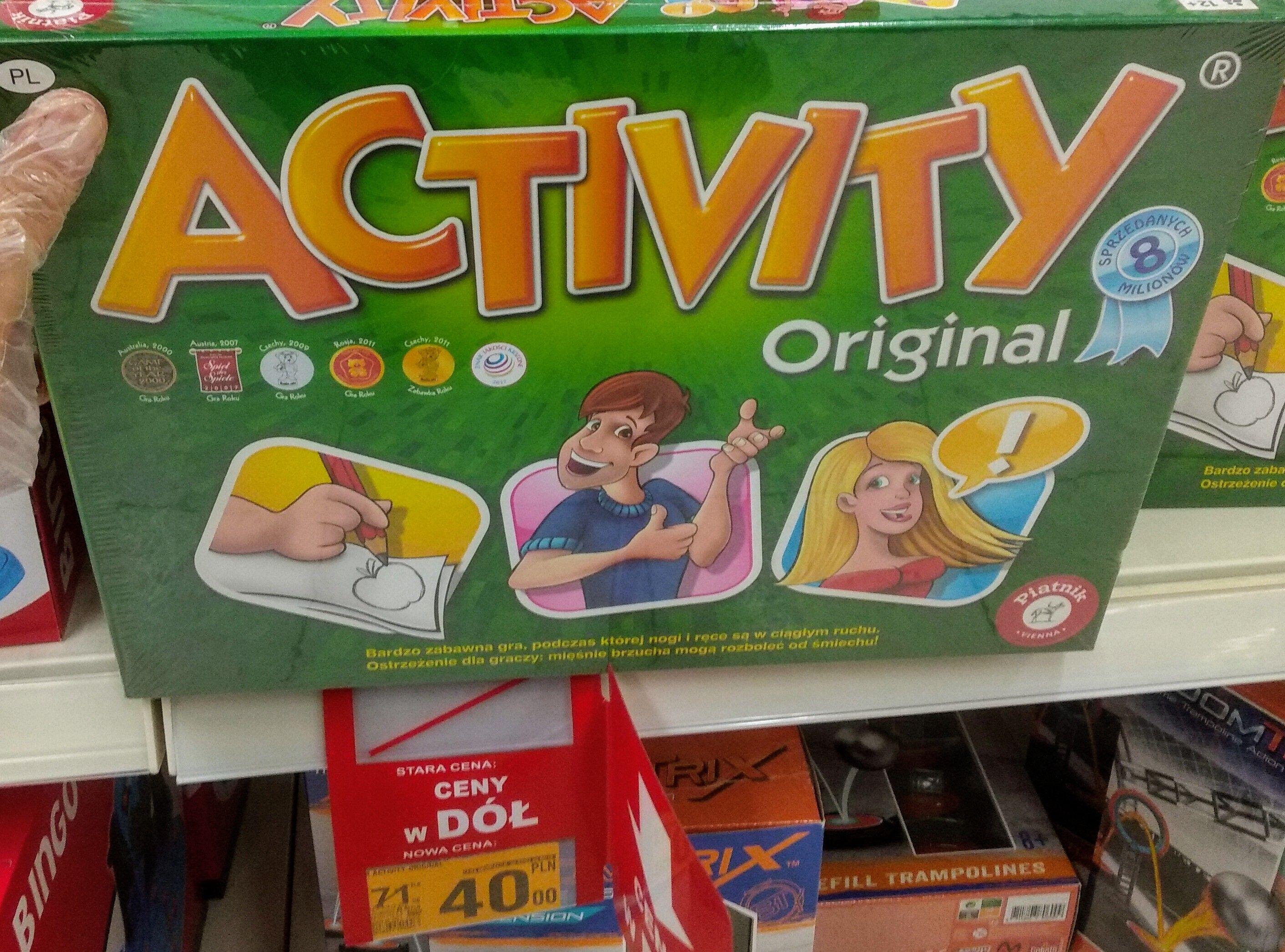 Gra planszowa activity Auchan Ustowo