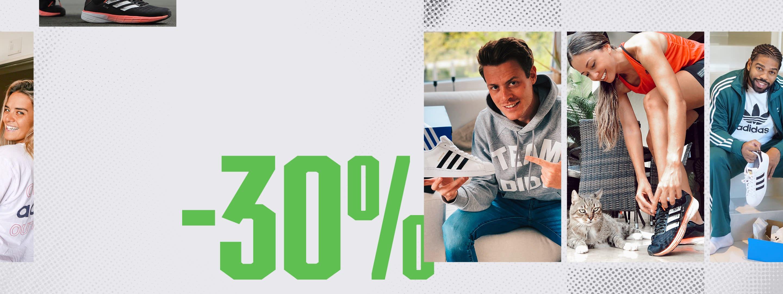 -30% w Promocji Patrząc do Przodu w Adidas