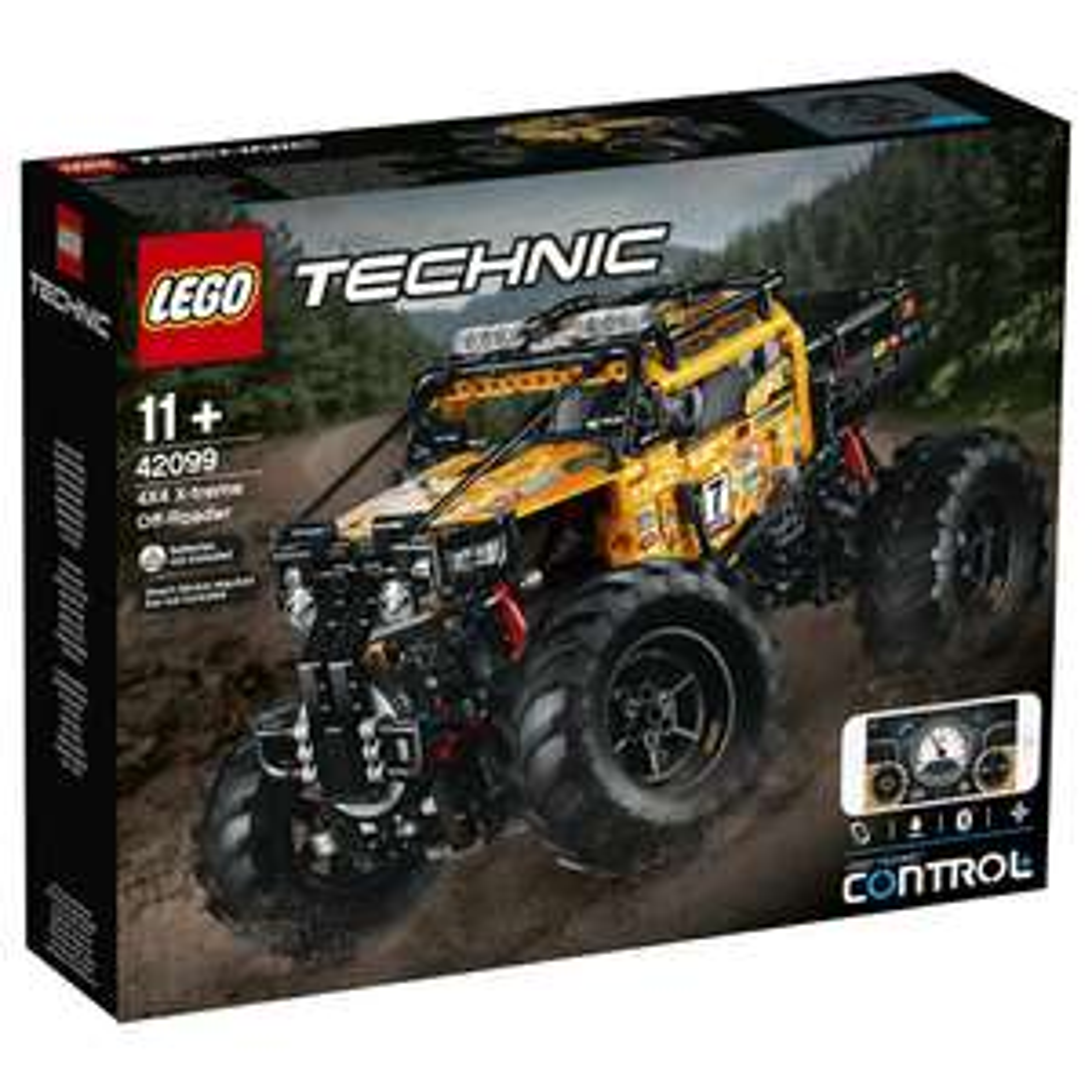 LEGO zdalnie sterowany pojazd terenowy 42099