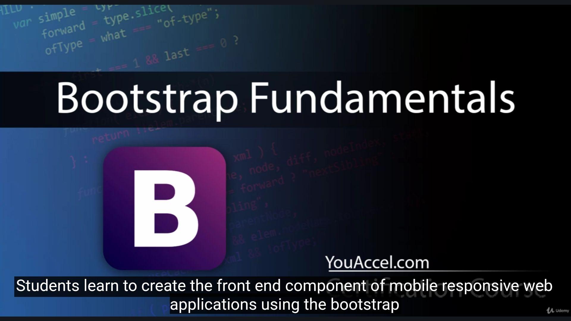 Bootstrap Fundamentals @Udemy ZA DARMO DZIŚ