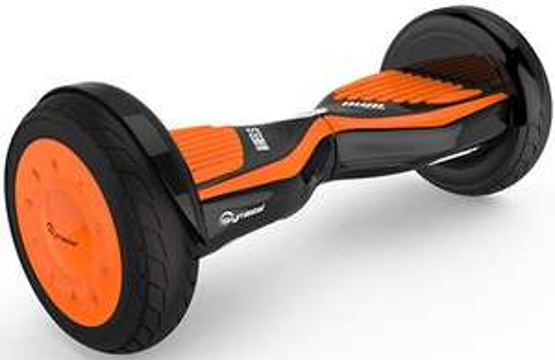 Deskorolka elektryczna hoverboard SKYMASTER Wheels 11 Lark Czarno-pomarańczowy