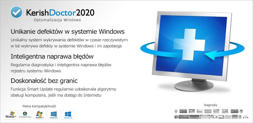 Kerish Doctor 2020 promocja plus przy zakupie dodatkowy rok licencji gratis.