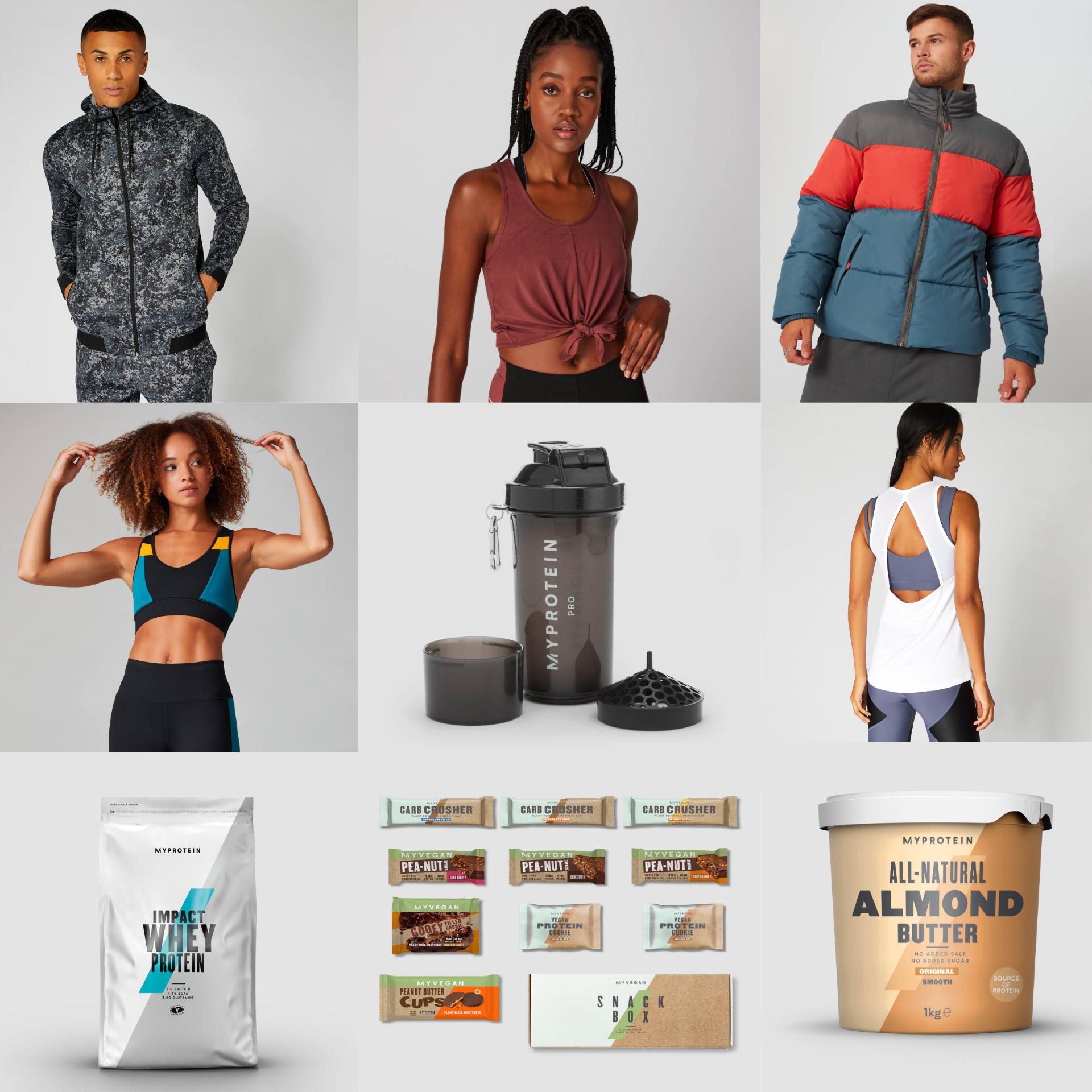 48% na WSZYSTKO w MyProtein (odżywki, akcesoria i odzież)