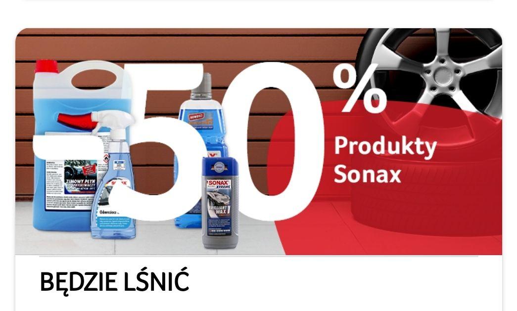 Produkty SONAX -50% z aplikacją Selgros