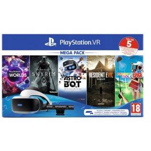 Sony PlayStation VR Megapack V2 (voucher 5 gier)