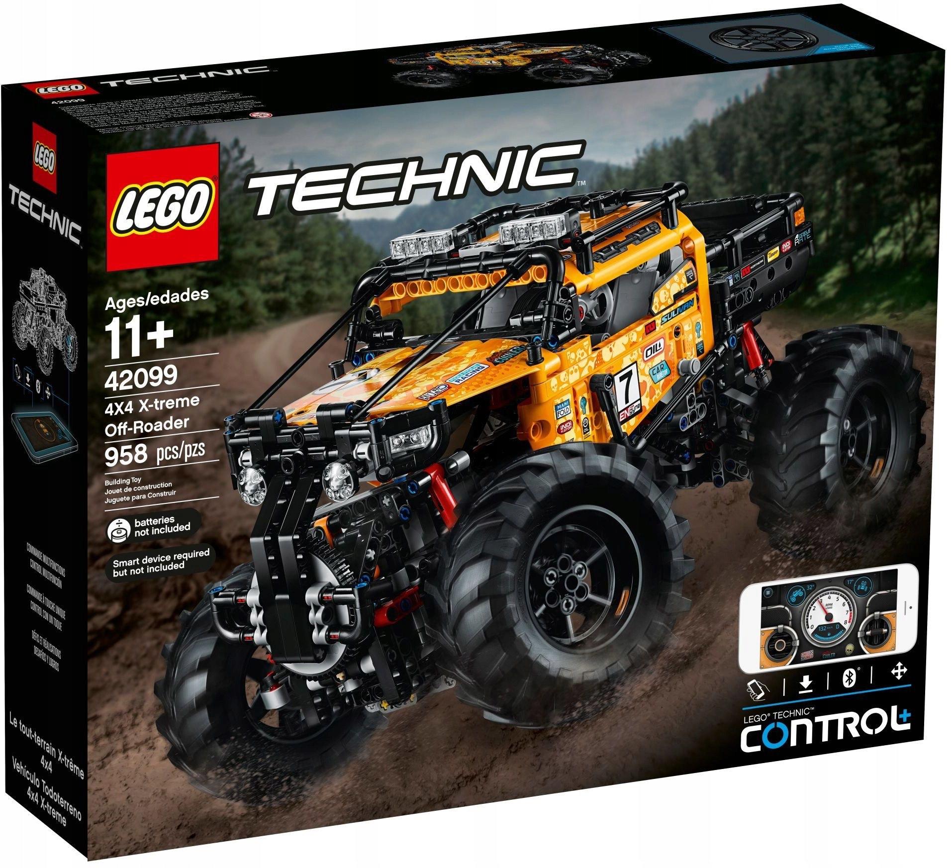 Lego technic 42099 Samochód terenowy Selgros