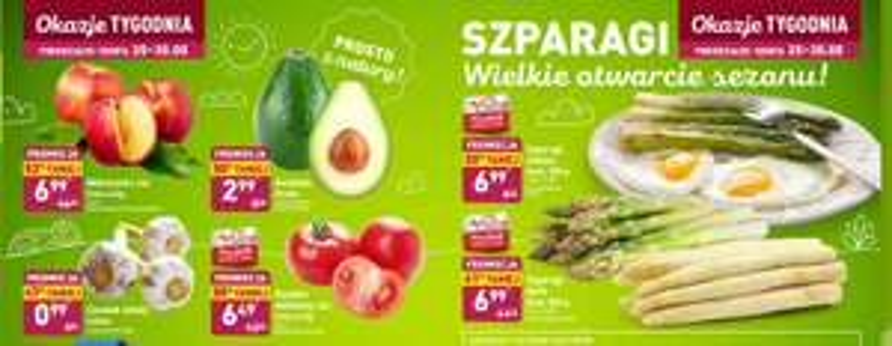 ALDI, 40-50% warzywa.