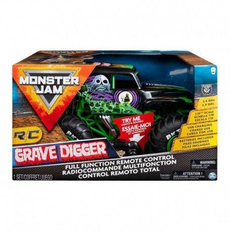 Spin Master Pojazd RC Grave Digger na dzień dziecka