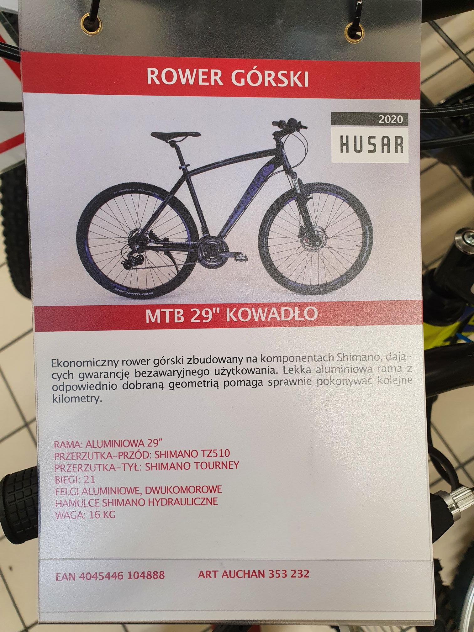 """Rower MTB 29"""" Kowadło"""