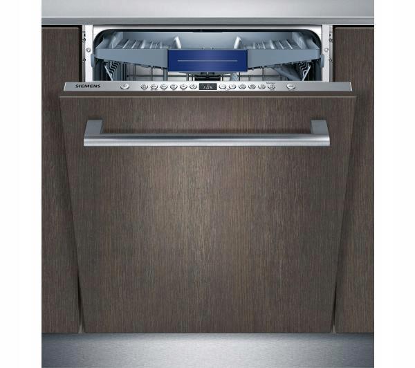 Zmywarka Siemens SN636X03NE - szuflada na sztućce, stalowa podłoga, 14 kpl i 44dB, Infolight.