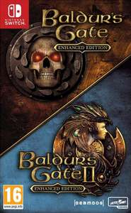 Baldur's Gate and Baldur's Gate II: Enhanced Edition na Nintendo Switch wersja pudełkowa