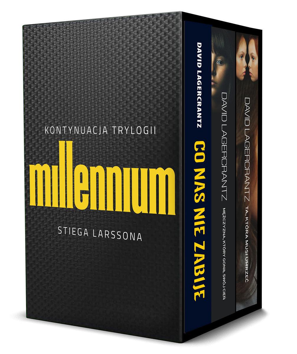 Pakiet Millennium D. Lagercrantz: Co nas nie zabije / Mężczyzna, który gonił swój cień / Ta, która musi umrzeć