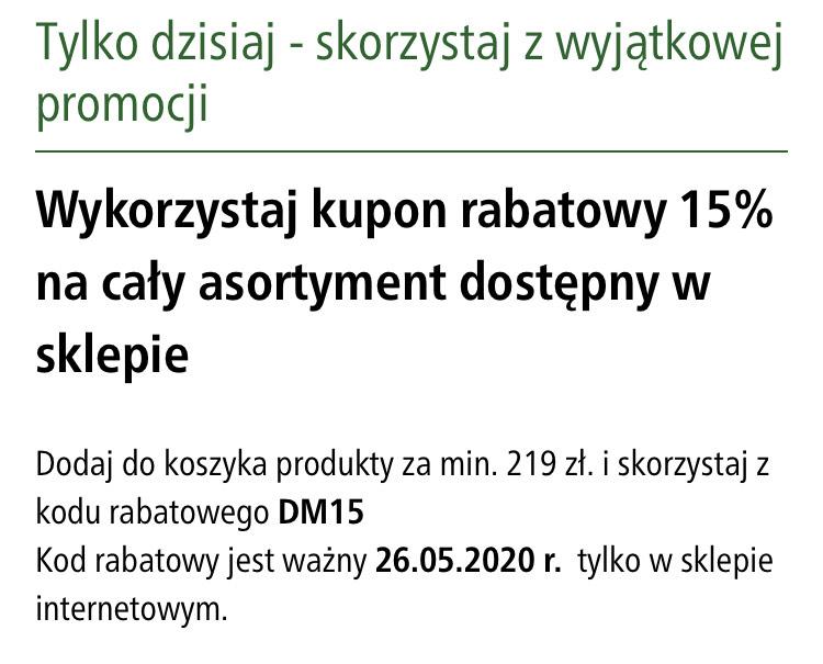 -15% z okazji Dnia Matki na www.MaxiZoo.pl