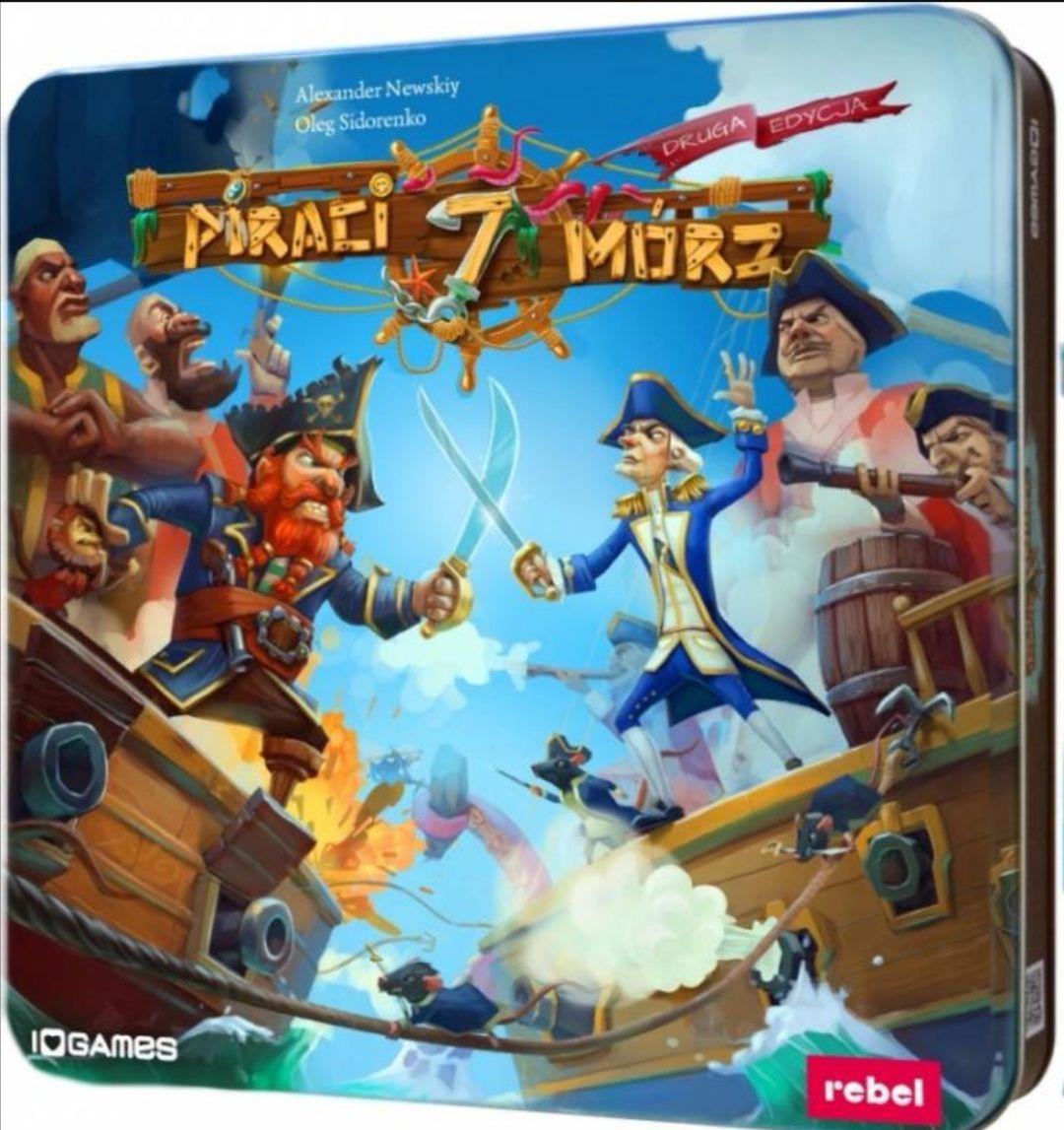 Piraci siedmiu mórz gra planszowa
