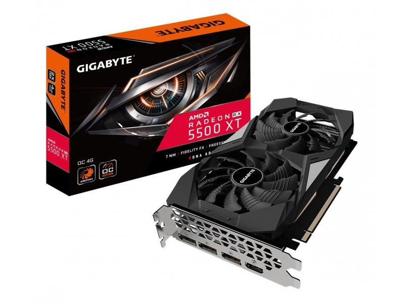 Gigabyte Radeon RX 5500 XT OC 4GB GDDR6 + Gry + Game Pass
