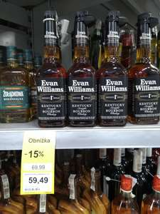 Whiskey Evan Williams Bourbon 0,7L Tesco Krapkowice